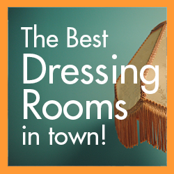 Best dressing rooms in town