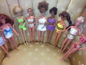 """What's up with the Barbies?"""